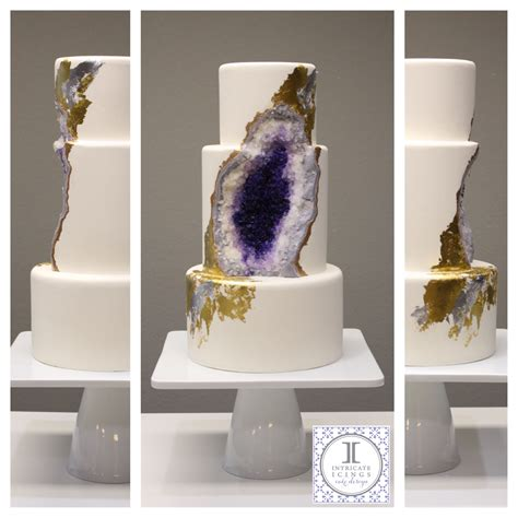 just like home design your own cake how to make a geode cake