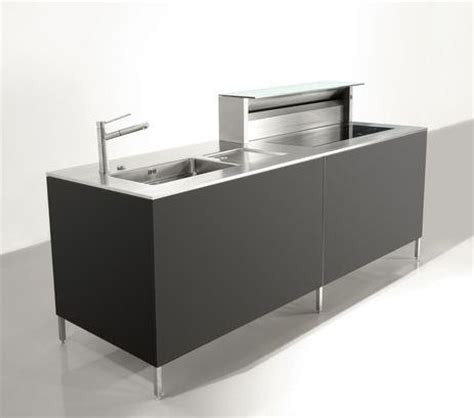 compact kitchen unit cubic  rieber contemporary