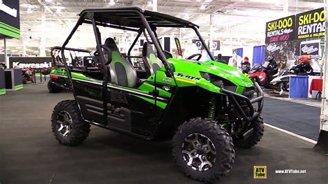 2017 Kawasaki Sport Side By Side by 2016 Kawasaki Teryx Le Side By Side Atv Walkaround