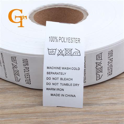 aliexpress buy custom 100 polyester garment care