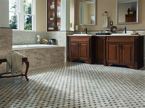 what kind of flooring is best for a bathroom tile flooring options hgtv
