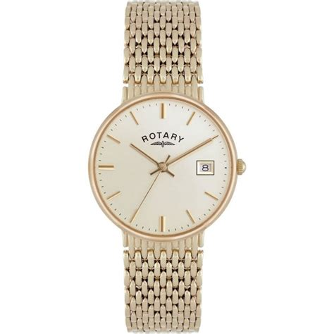 rotary s all 9ct gold bracelet watches from