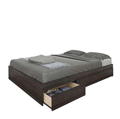 nexera 225430 atom 3 drawer reversible storage bed