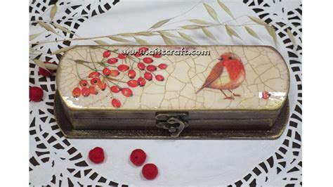 Decoupage Tutorial Wood - decoupage tutorial a box diy