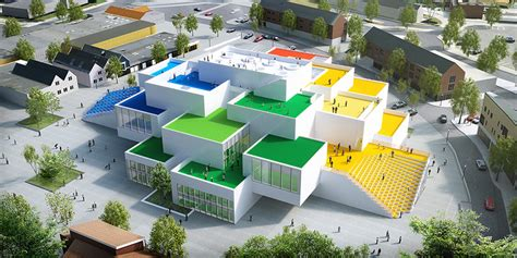 Shed Roof Design Lego House Designed By Bjarke Ingels Opens To The Public