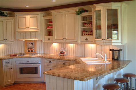Kitchen Cabinets Red And White by Country Martin Wood Design