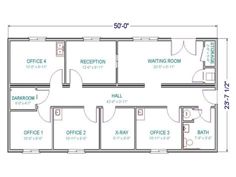 layouts in x template office building floor plan templates