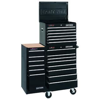 Craftsman Side Cabinet by Craftsman 6 Drawer Bearing Griplatch 174 Side Chest Black