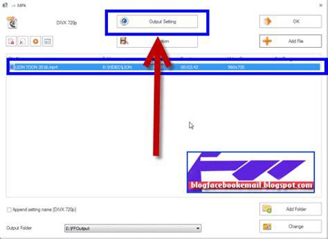format factory adalah cara merubah ukuran video menggunakan format factory