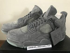 Air 4 Cool Grey Uk by Nike Air Retro 4 Iv Kaws Companion Uk 6 7 8 9 10 11 12 2017 Aj4 Cool Grey Ebay
