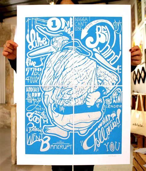 Amazing Wallsticker 50x70cm Jm8381 L mega awesome illustrations inspiring artworksmega artist mega awesome artworks