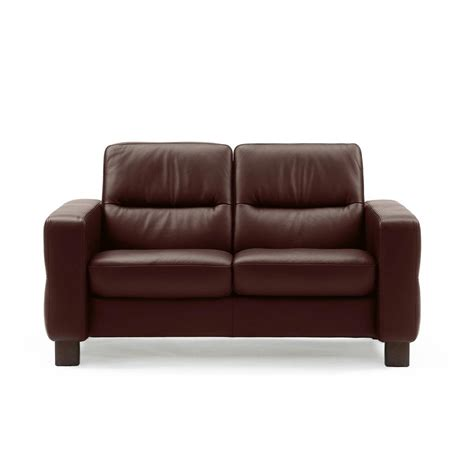 low back recliners stressless wave low back loveseat from 2 495 00 by