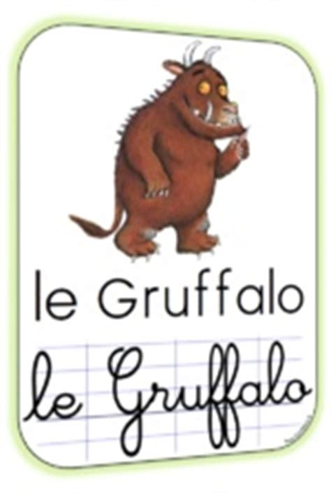 gruffalo french language 23 best va t en grand monstre vert images on monsters preschool and green monsters