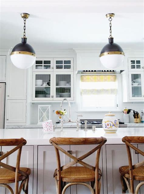 exle of pendants on each side of hood over island design stiles kitchens hicks pendant beadboard backed