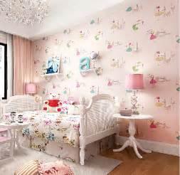 Wallpaper For Girls Bedroom girls bedrooms online shop modern cartoon dancing girl wallpaper girls