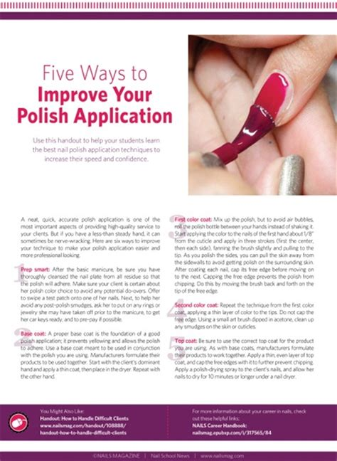 7 Ways To Strengthen Your Nails by Five Ways To Improve Your Application Education