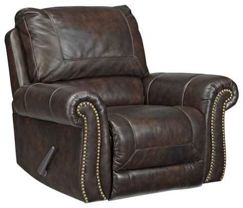 Leather Match Upholstery by Signature Design By Bristan Traditional Leather