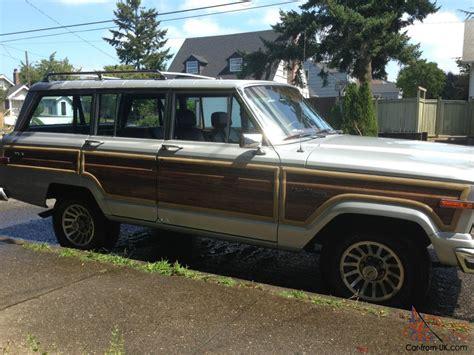 lowered jeep wagoneer beautiful 1988 jeep grand wagoneer low miles