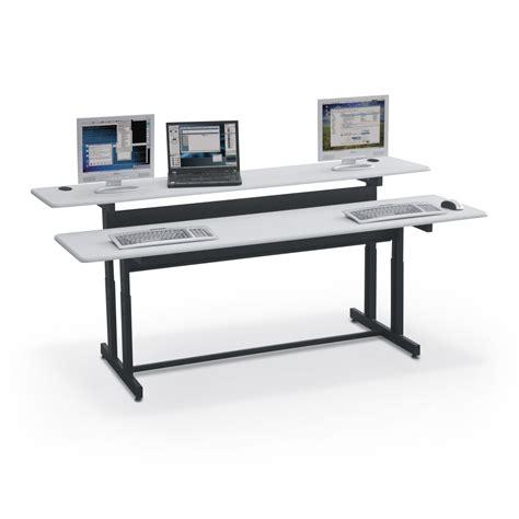 split level adjustable workstations mooreco inc best