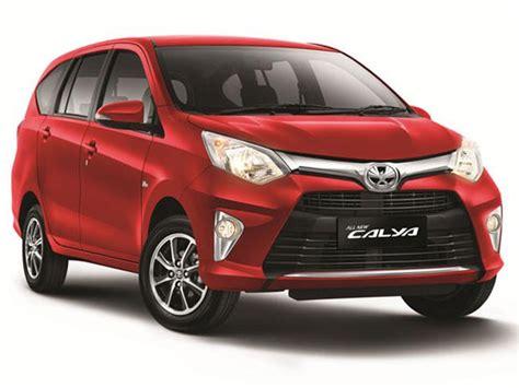Mobil Toyota Calya 2017 toyota calya harga ulasan dan peringkat dari ahli di