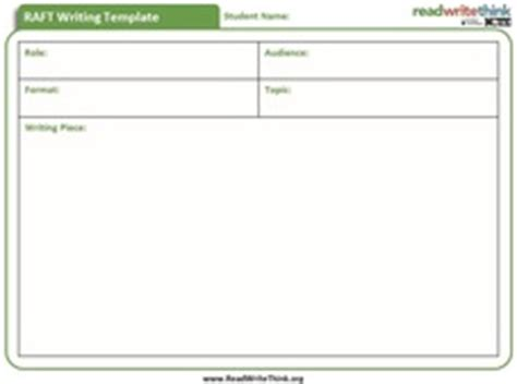 raft writing template raft hisd powerup