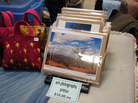 how to display prints craft shows soulfire creations