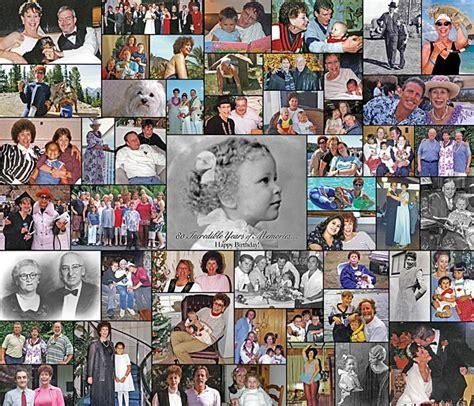 new year collage ideas birthday photo collage birthday gift idea using