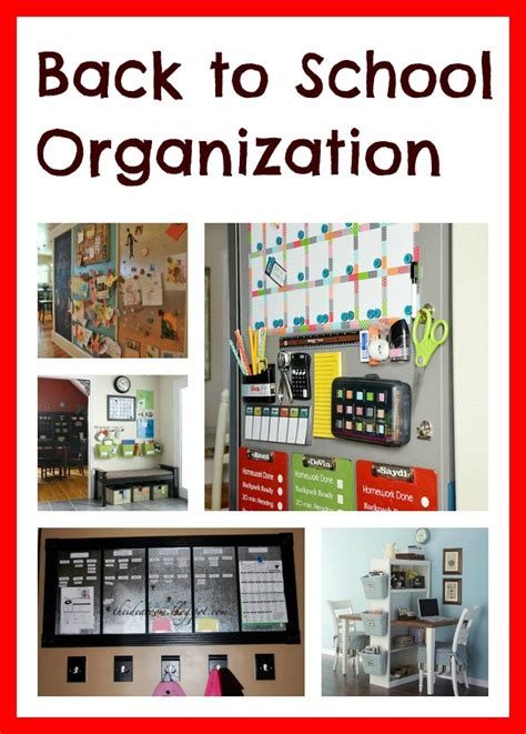 Back To School Desk Organization Organization Tips For School 10 Back To School Organization Ideas Home Things Get