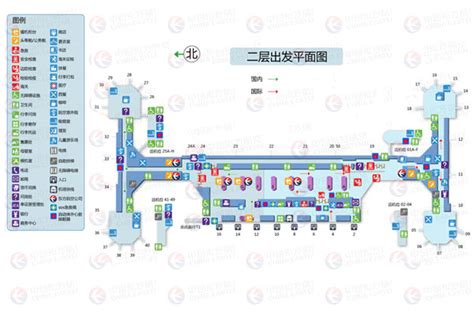 Airport Floor Plan by Beijing Airport Information Airport Services Guide