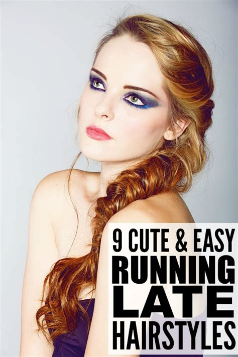 easy hairstyles for school when running late 9 running late hairstyles for tired moms