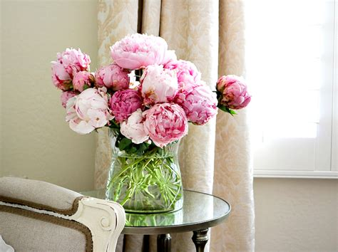 pink peonies bedroom summer home tour 2016 randi garrett design