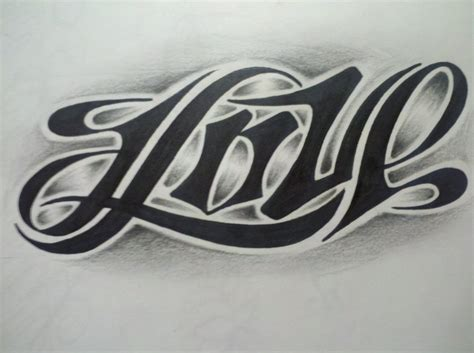 love hate tattoos black ink and ambigram tattoos designs