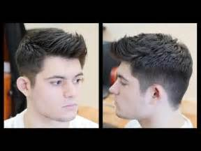 enforcement hairstyles men s haircut tutorial fohawk haircut fade thesalonguy