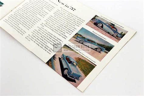buick brochure 1957 buick sales brochure hometown buick