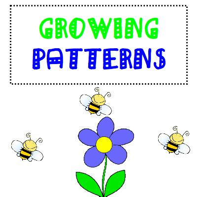 increasing pattern activities 1st grade learning stars growing patterns