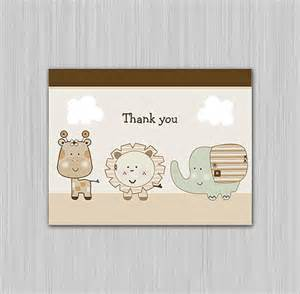 Thank You Note Template Baby Shower by 12 Baby Shower Thank You Notes Documents In