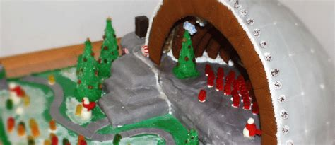 see a gingerbread three decker at bsa space boston magazine 3rd annual gingerbread house competition 12 08 14