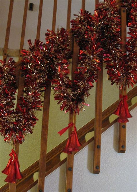 banister decorations christmas 2012 pinterest