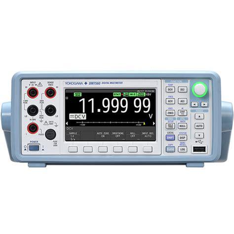 Multimeter Yokogawa jual yokogawa dm7560 digital multimeter akurasi tinggi