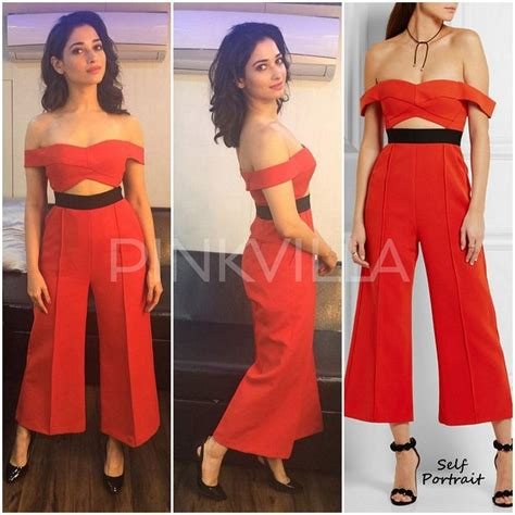Yay Or Nay Lacostes New Pumps Bglam by Yay Or Nay Tamannaah In Self Portrait Pinkvilla