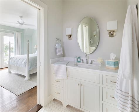 Bathroom Colors With White Cabinets by Rhode Island Cottage With Coastal Interiors Home
