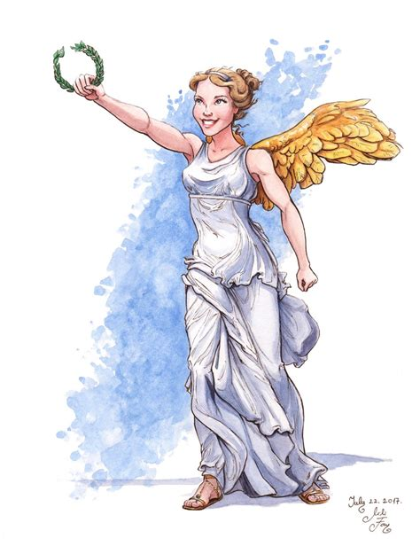 goddess of color mythojuly day 22 nike of samothrace nike is the