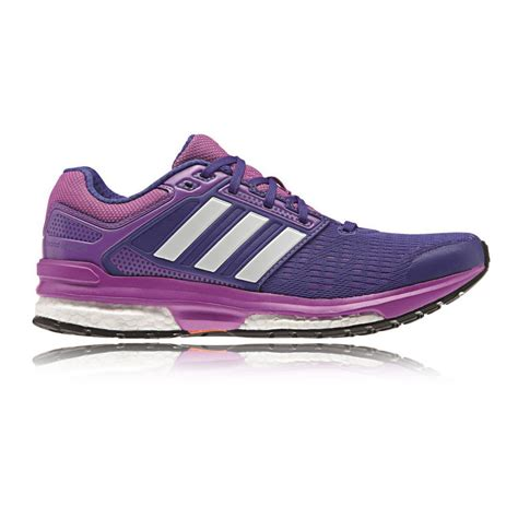 adidas response womens running shoes adidas response boost 2 womens purple support road