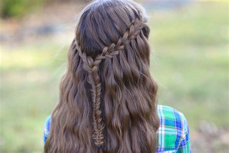 scissor waterfall braid combo
