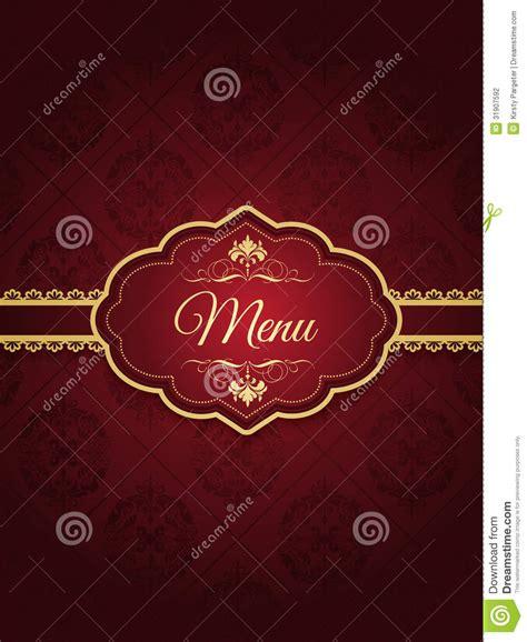 design background menu stylish menu design stock photography image 31907592