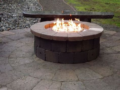 Do It Yourself Propane Pit step 5 test it do it yourself block pit propane