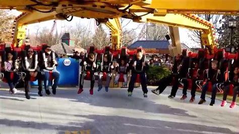 theme park maniacs hershey park the claw on ride pov december 27 2014