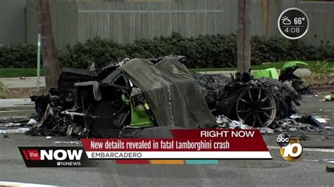 fatal lamborghini crash new details revealed in fatal lamborghini crash 10news