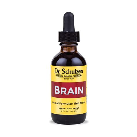 Brain Detox Formua by Dr Schulze S Brain Formula Living Warehouse