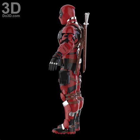 Kaos Print Umakuka Dedpool Suits 3d printable model armored deadpool armor suit concept designed by do3d print file format